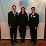 11 - US - Kazakhstan Convention Senator Kelly Ayotte with Turkish Cultural Center Directors