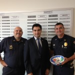 Turkish Cultural Center pays a visit to Chief David Mara